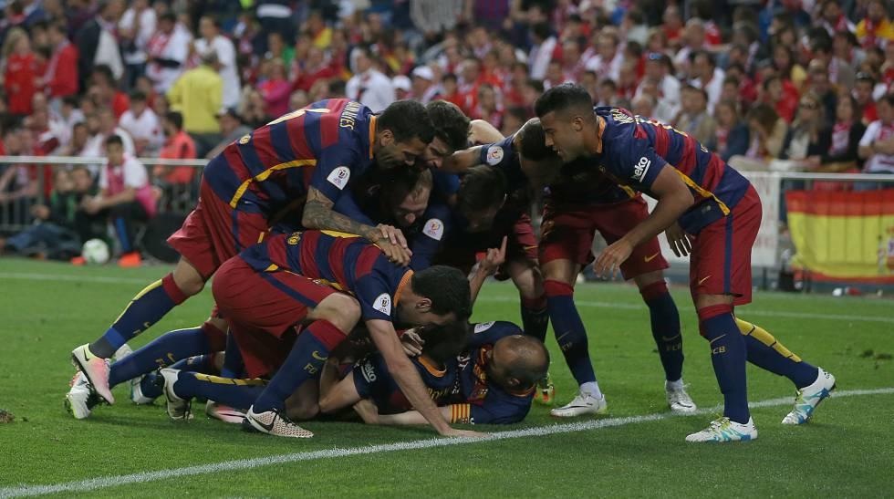 El Barcelona gana al Sevilla y se lleva la Copa del Rey   Deportes ...