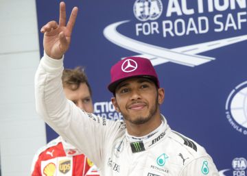 Pole de Hamilton en honor a Ali