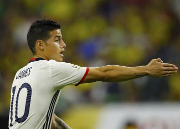 Colombia se aferra a James