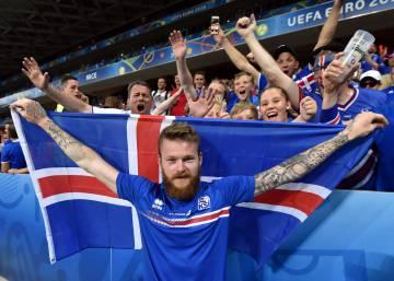 Eurocopa 2016 Islandia Futbol Hielo Y Fuego Deportes El Pais