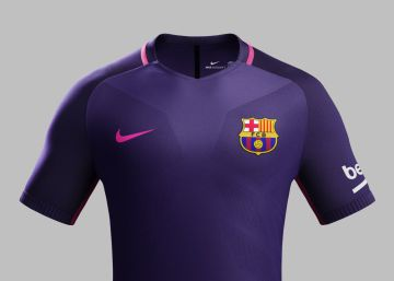La nueva camiseta púrpura del Barça 92d2af7bdaa75