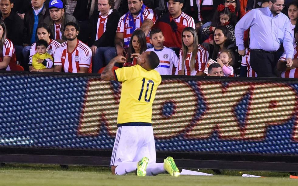 Cardona da el triunfo en el último momento a Colombia (0-1) contra Paraguay 0f5420e7471b0
