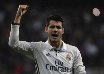 Morata aúpa al Madrid ante el Athletic