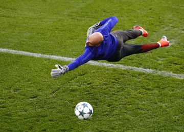 Willy Caballero, un portero con callo