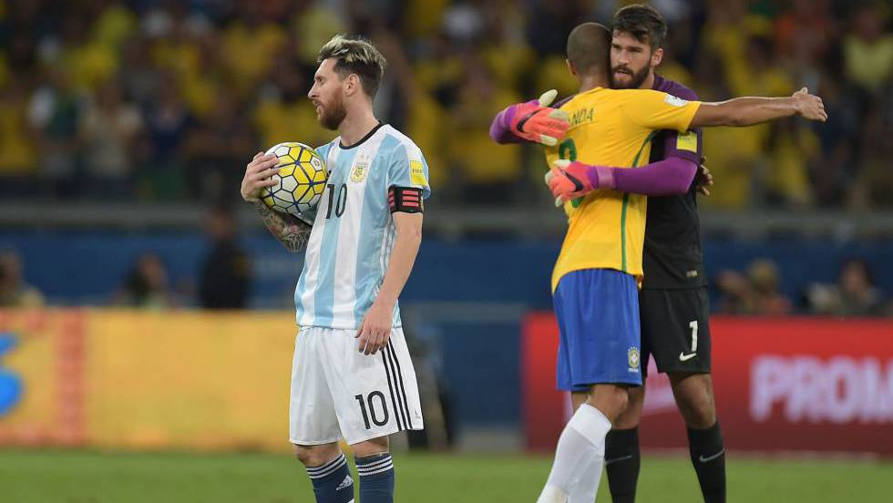 d59065c2a1 O capitão da Argentina faz autocrítica coletiva depois do golpe sofrido por  sua seleção contra o Brasil de Neymar