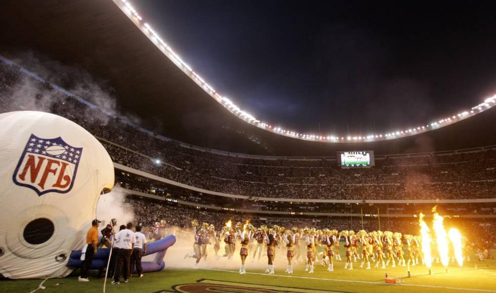 Texans-Raiders  El frenesí por la NFL regresa a México  f2b41cb9121