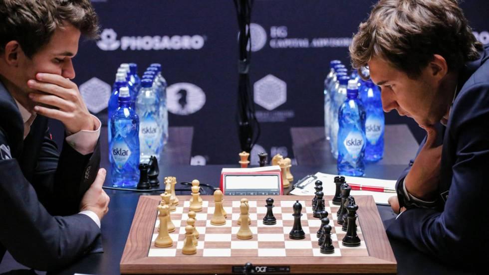 Carlsen reinará dos años más tras un desempate electrizante frente a Kariakin