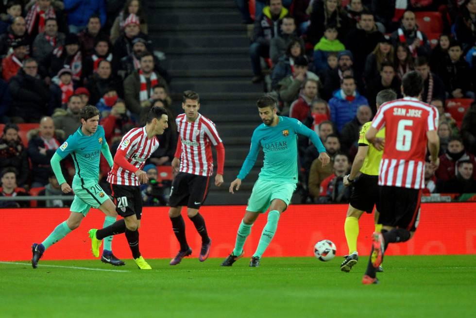 El Athletic derrota al Barcelona por la mínima  692dfc1e39e
