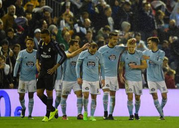 El Celta funde al Madrid