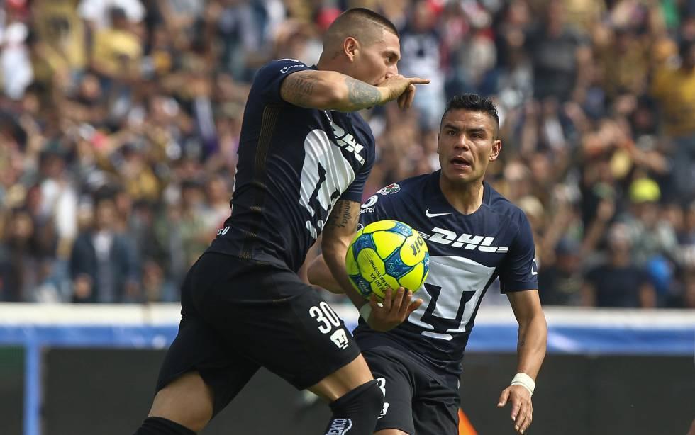 Los Pumas remontan y doblegan a Necaxa (3-1)  48f975c8c2ee1
