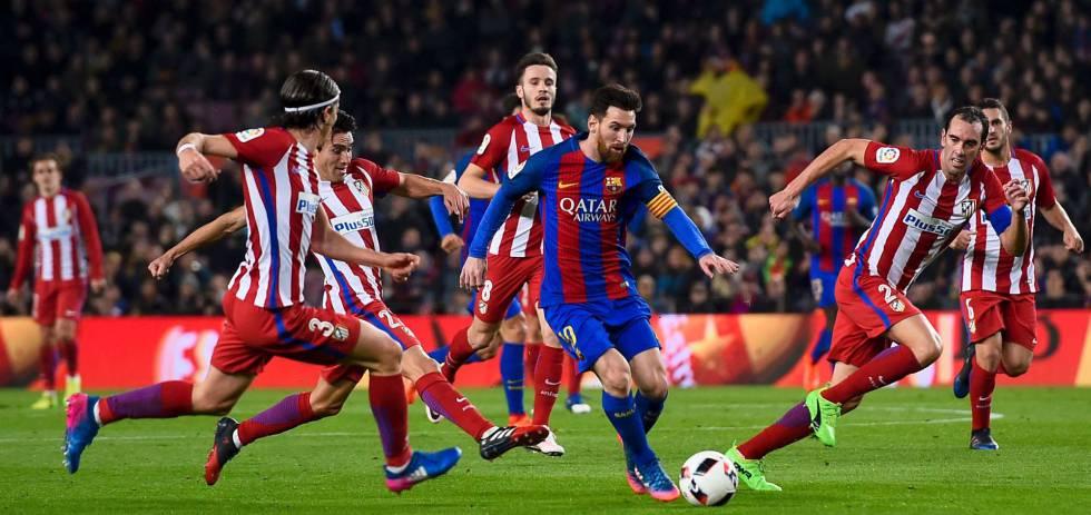 Copa Del Rey El Barca Se Ha Olvidado De Jugar Al Futbol Deportes