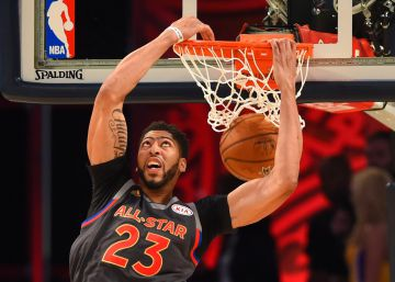 Anthony Davis, rey del All Star y récord con 52 puntos