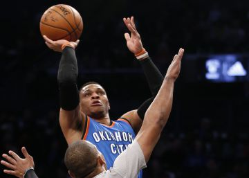 Westbrook se supera con su 33º triple doble del curso