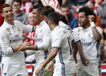 El Real Madrid rompe el embrujo del Athletic en San Mamés