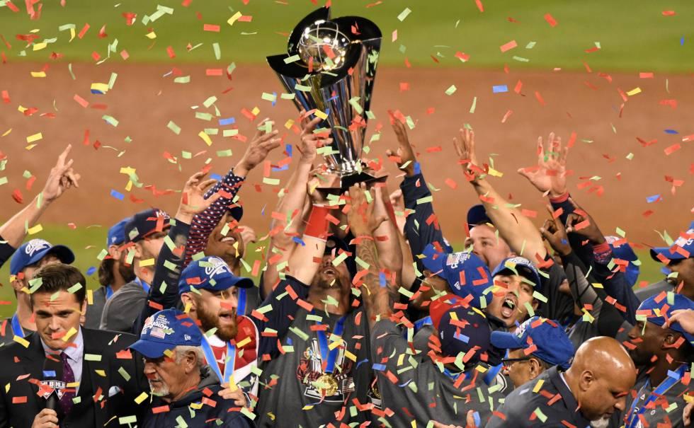 Estados Unidos gana el Clásico Mundial de Béisbol 2017  bb14190f6a85