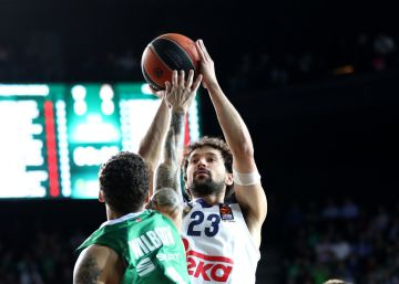 El Real Madrid vence al Darussafaka y se coloca a un paso de la Final Four