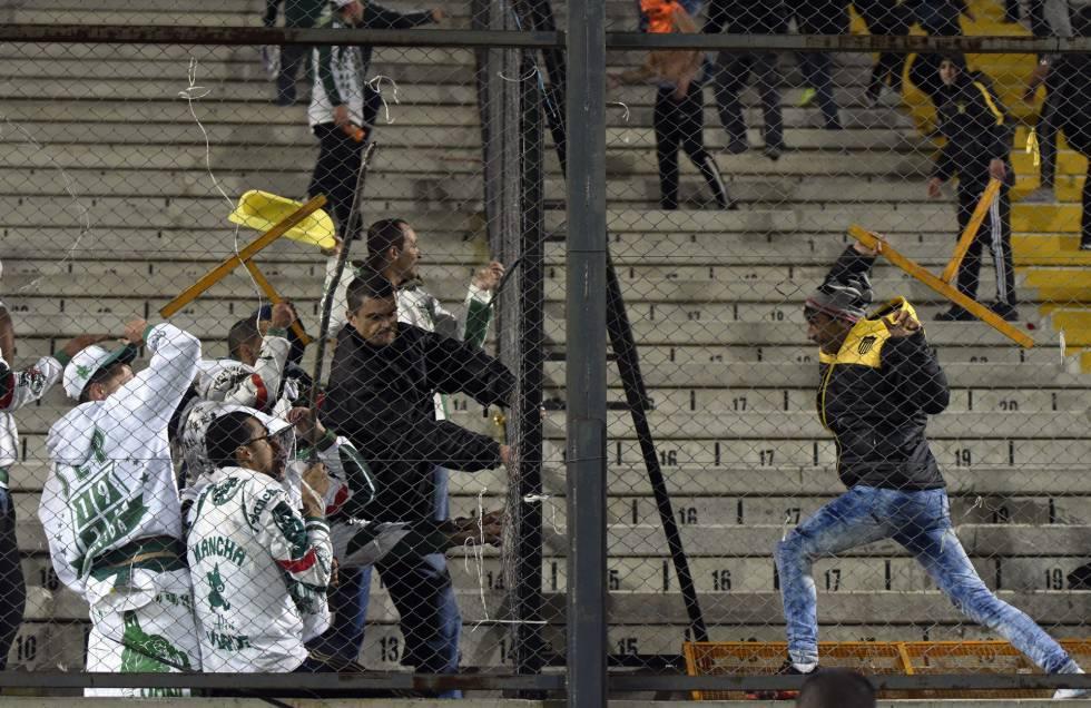 Una Pelea Anunciada En El Choque Entre Palmeiras Y Peñarol