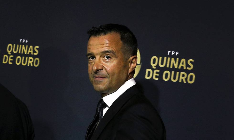 Jorge Mendes has clients including Cristiano Ronaldo and José Mourinho.