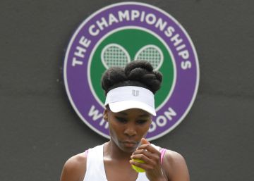 "Venus Williams, ""destrozada"" y entre lágrimas"