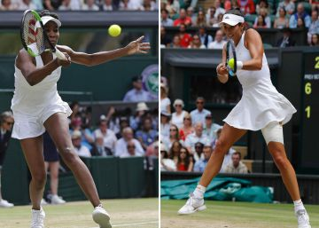 Muguruza gana ante Venus Williams la final de Wimbledon
