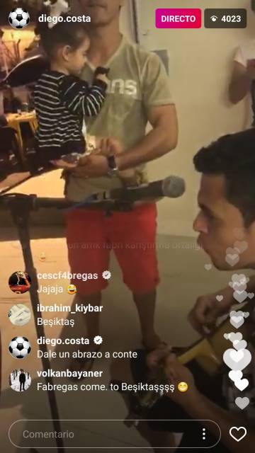 El mensaje de Diego Costa para Conte.