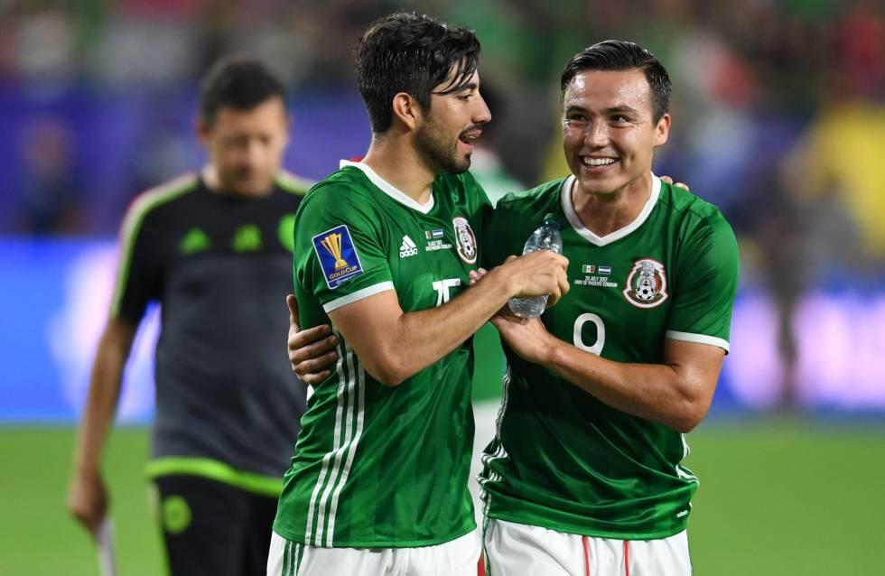 México vence por la mínima a Honduras y jugará las semifinales contra  Jamaica fcfbaa42c4c30