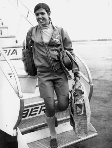 Mari Paz Corominas, en México 68.