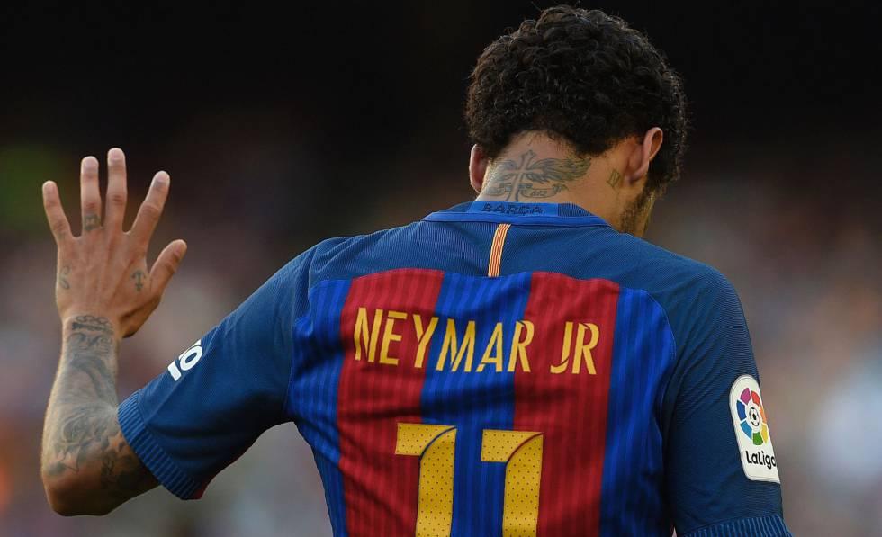 b1d2049c3c Neymar: Liga Espanhola recusa pagamento dos 222 milhões de euros da  cláusula de jogador