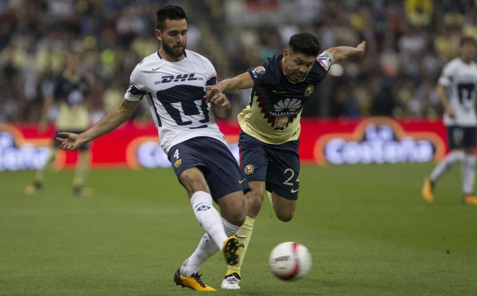 b2f0cc172 El América se impone a los Pumas en el clásico de la Ciudad de México (2-1)