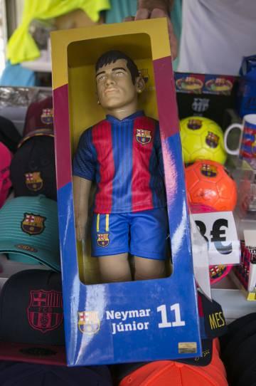El muñeco de Neymar.