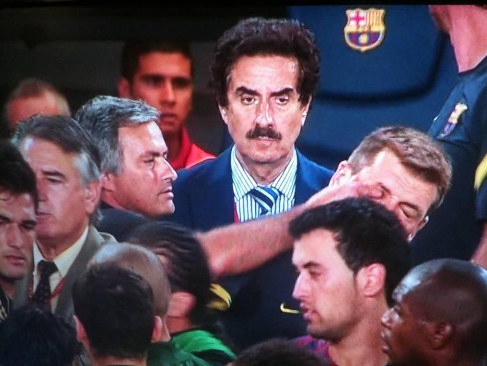 Mourinho rasar mot barca