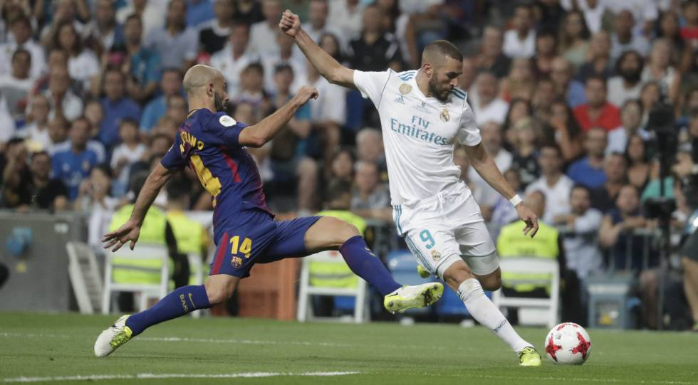 Benzema salva la entrada de Mascherano