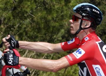 Lutsenko takes 5th stage of Vuelta a España; Froome extends overall lead