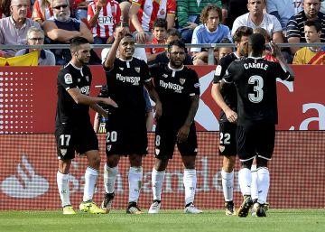 El Sevilla se aprovecha de los errores del Girona 27c087ca50d05