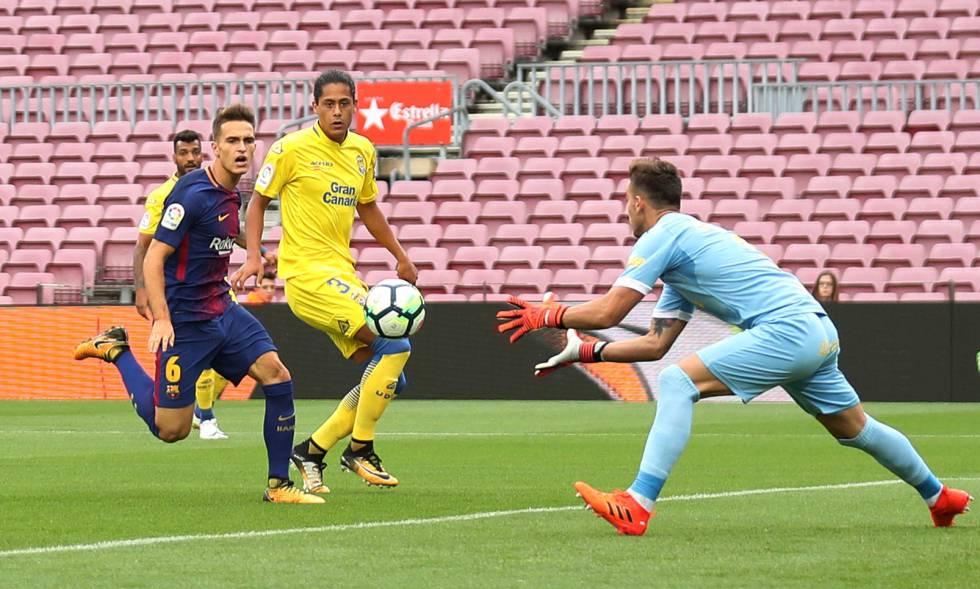 El Barcelona Golea A Las Palmas En Un Camp Nou Vacío