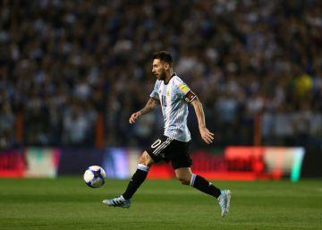 Argentina le da la espalda a Messi