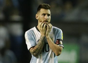 A Argentina dá as costas a Messi