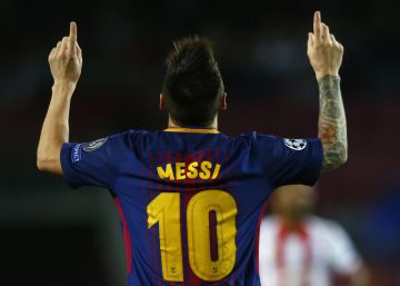 """Messi rompe barreras permanentemente"""