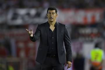 El entrenador de Lanús, Jorge Almirón.