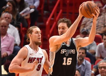 Los Spurs se muestran intratables en Miami