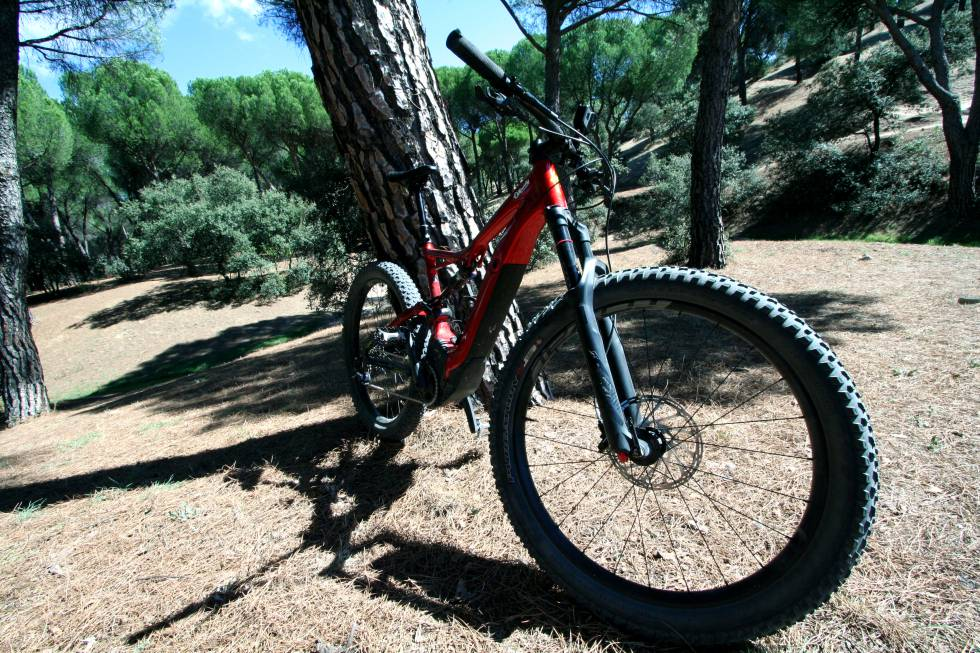 Adelgazar en bici de montana