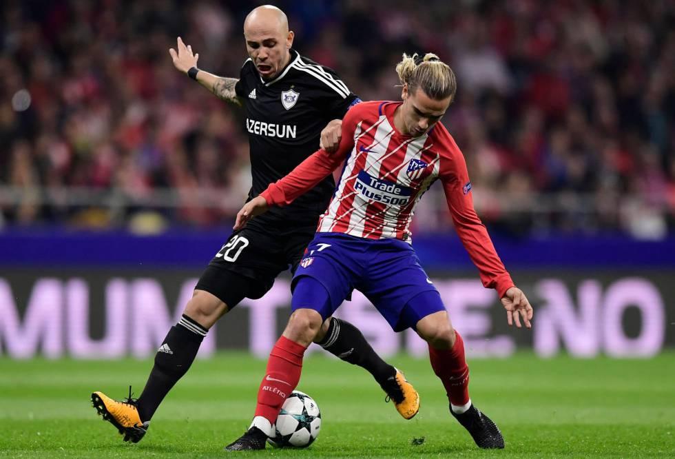 Atlético de Madrid - Qarabag: horario y dónde ver la Champions ...