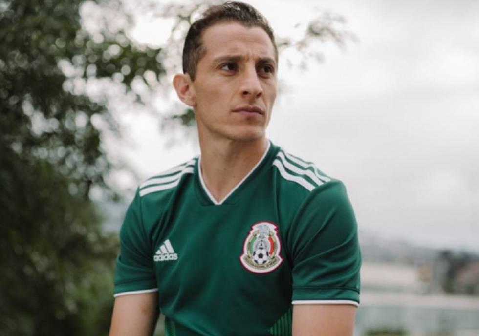 La selección de México presenta el uniforme que usará en el Mundial de Rusia 0ded625058586