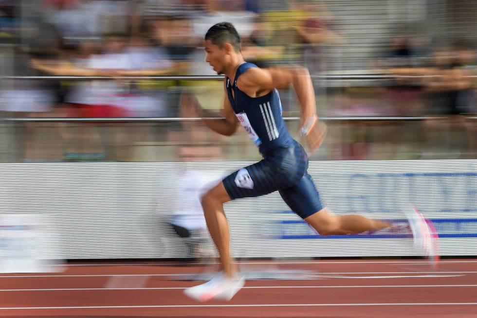 size 40 dfd8c dea69 Van Niekerk, en una carrera de 400m.