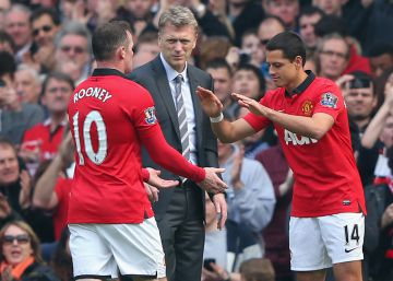 Chicharito, Moyes y la debacle del Manchester United