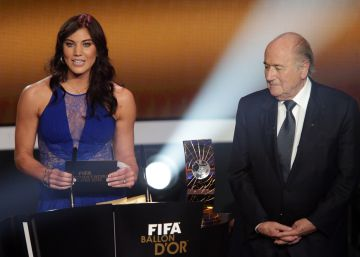 Hope Solo acusa Joseph Blatter de abuso sexual