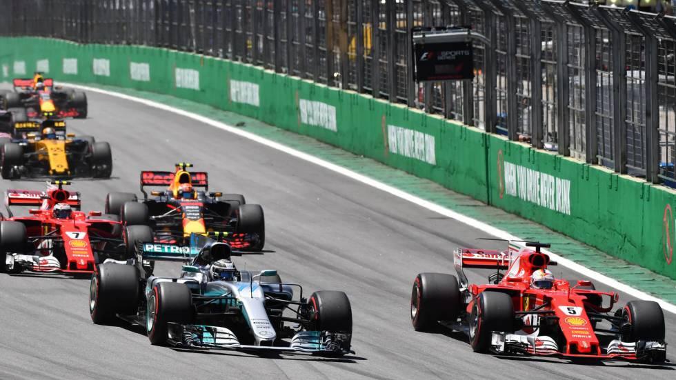 Sebastian Vettel Gana El Gp De Brasil De F1 Con Fernando Alonso Octavo Deportes El País