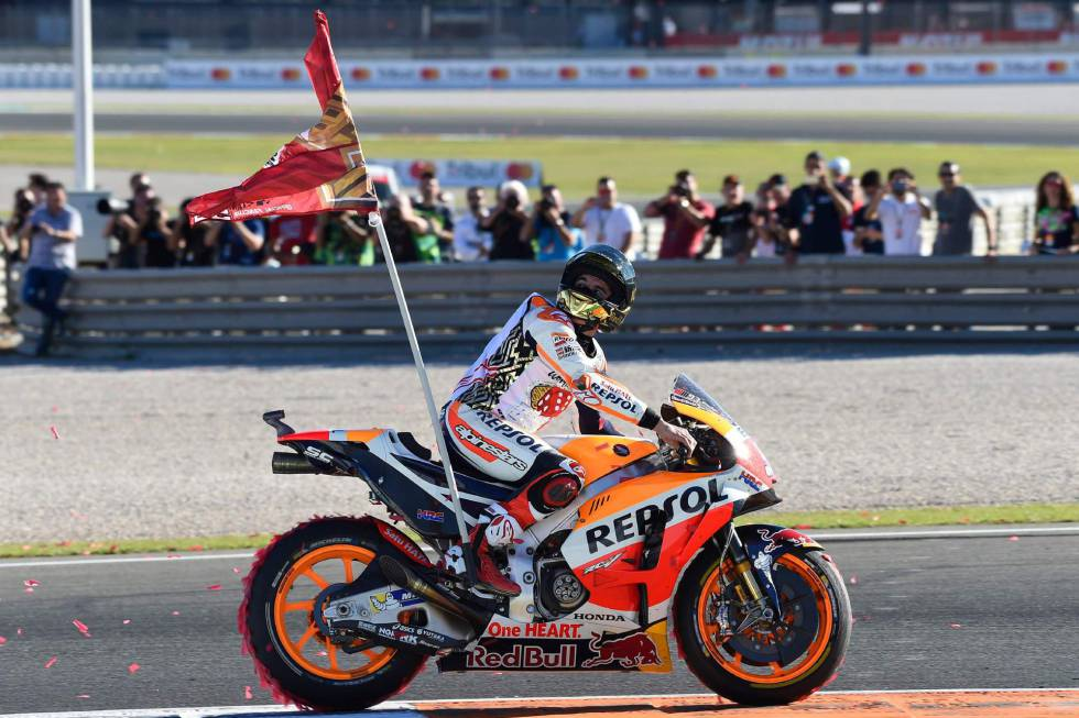 640f73f7e Why doesn't MotoGP champion Marc Márquez celebrate with the Spanish flag?