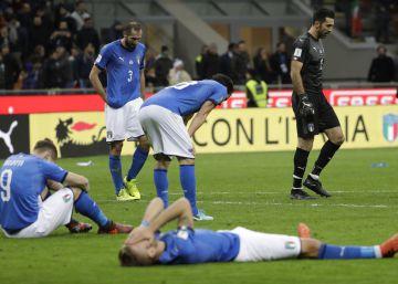 Itália empata com Suécia e fica fora da Copa 26f83e58b1705