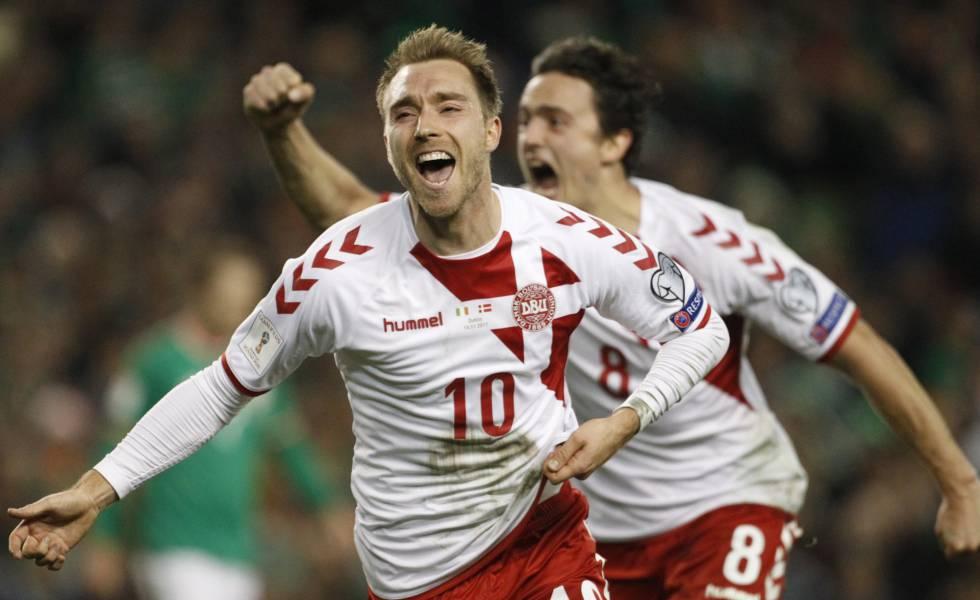 72a4184b8 Dinamarca completa el cupo de selecciones europeas en el Mundial tras  castigar a Irlanda (1-5)